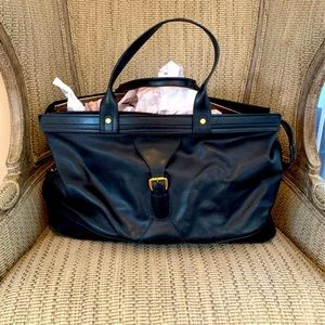 GUCCI 💯 % Italian Leather vintage Duffle Bag